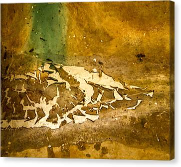 Disgusting Canvas Print by Jean Noren