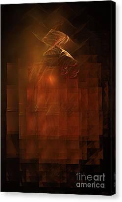 Disintegration  Canvas Print by Elizabeth McTaggart