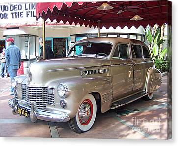 Disney Cadillac Canvas Print