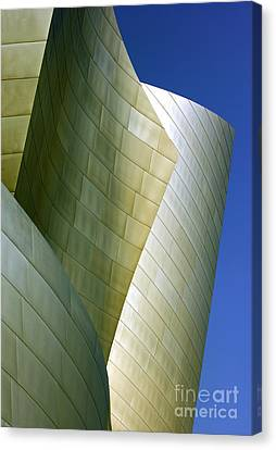 Disney Concert Hall 5 Canvas Print by Micah May