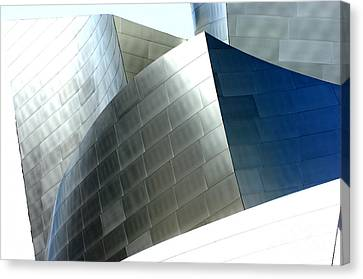 Disney Concert Hall 9-1 Canvas Print by Micah May