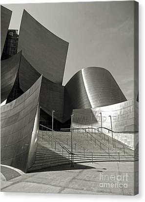 Disney Concert Hall Canvas Print by Gregory Dyer
