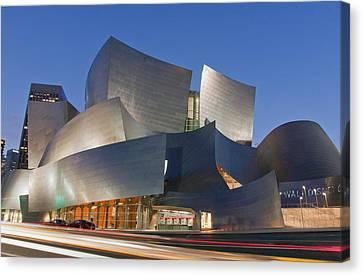 Symphony Hall Canvas Print - Disney Hall by Matthew Bamberg