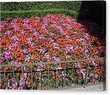 Disneyland Park Anaheim - 121215 Canvas Print