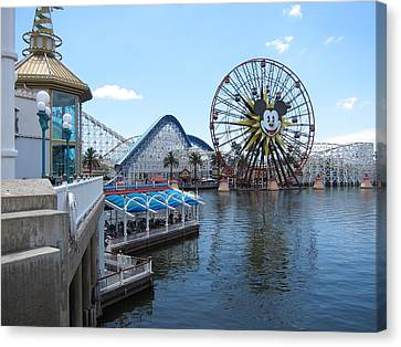 Disneyland Park Anaheim - 121253 Canvas Print