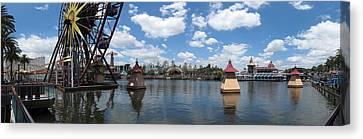 Disneyland Canvas Print - Disneyland Park Anaheim - 121256 by DC Photographer