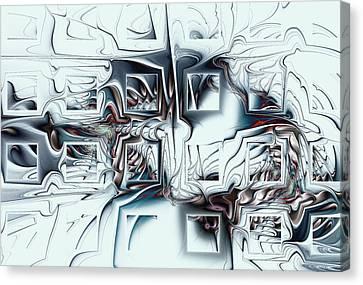 Disorganized Complexity Canvas Print