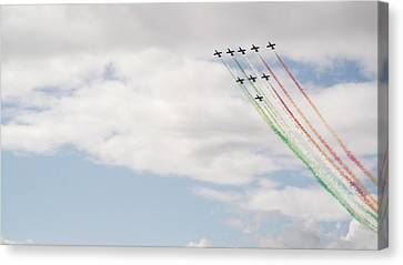 Displaying The Flag Canvas Print by Tracey Williams