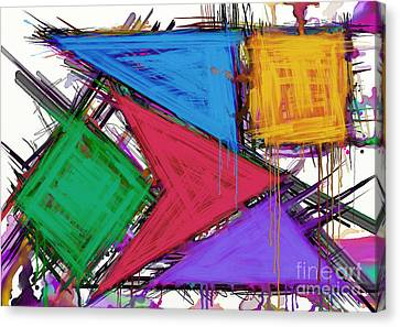 Disruptor Canvas Print by Keith Mills