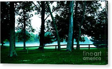 Distant Fog Canvas Print