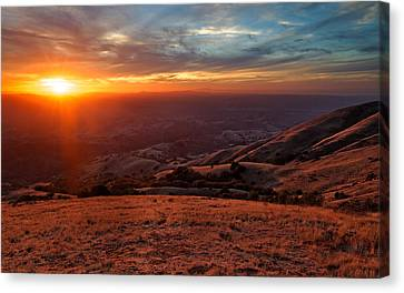 Mount Diablo - Distant Canvas Print by Francesco Emanuele Carucci