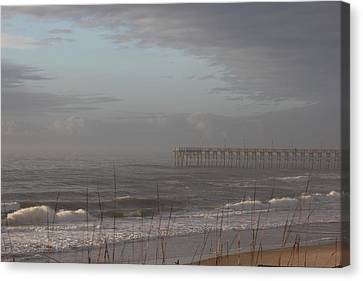 Distant Pier Canvas Print by Static Studios