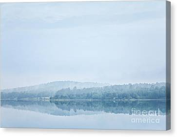 Distant Shore Canvas Print by Susan Cole Kelly Impressions