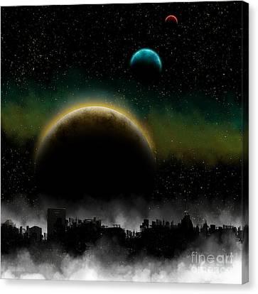 Distant Skys Canvas Print