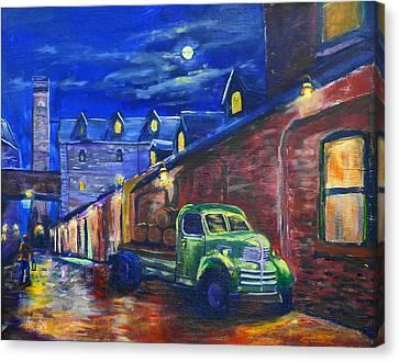 Distillery Night Watch Canvas Print
