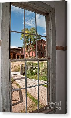 Distorted View Of The World Canvas Print by Sue Smith