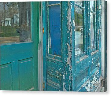 Distressed In Other Respects Canvas Print