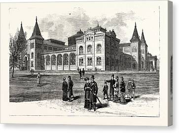 District Of Columbia The New Building Of The National Canvas Print by American School