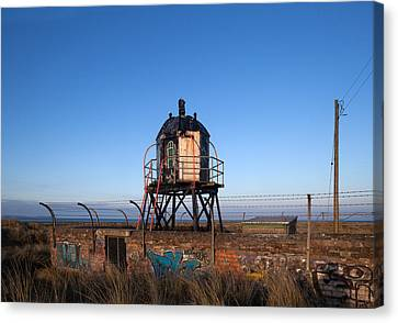 Disused Lighthouse, Mornington, County Canvas Print by Panoramic Images