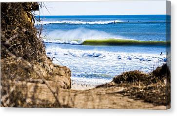 Ditch Plains Canvas Print by Ryan Moore