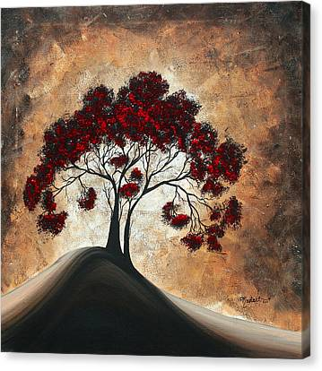 Black Artist Canvas Print - Divine Intervention II By Madart by Megan Duncanson