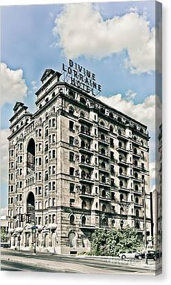 Divine Lorraine Hotel Canvas Print