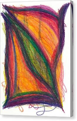 Daina Canvas Print - Divine Love by Daina White