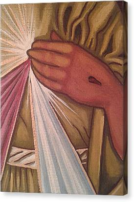 Divine Mercy Canvas Print by Susan Howard