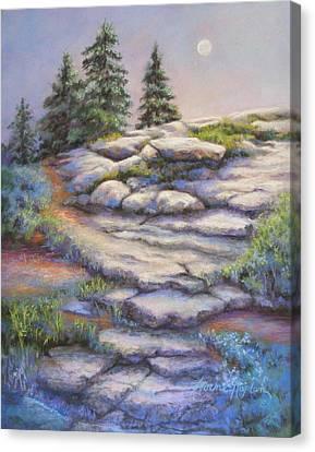 Divine Moonshine Canvas Print