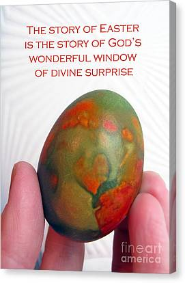 Divine Surprise Canvas Print by Ausra Huntington nee Paulauskaite