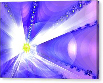 Divine Vision Canvas Print by Ute Posegga-Rudel