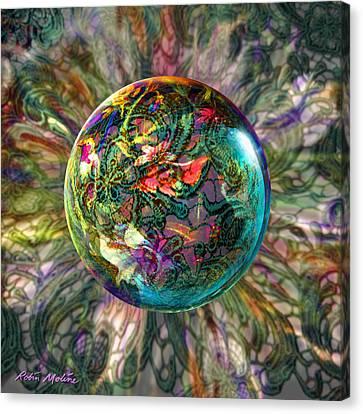 Divining Lace Canvas Print