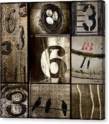 Divisible By Three Canvas Print