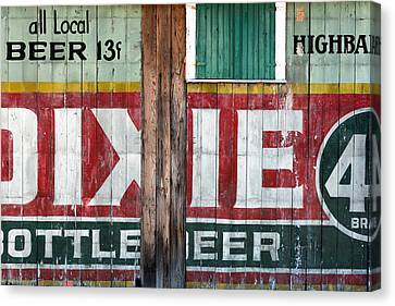 Dixie Beer Canvas Print by Chris Moore