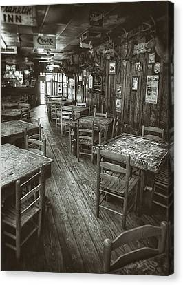 Dunk Canvas Print - Dixie Chicken Interior by Scott Norris