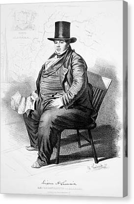 Dixon Hall Lewis (1802-1848) Canvas Print