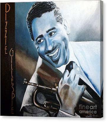 Dizzie Gillespie Canvas Print