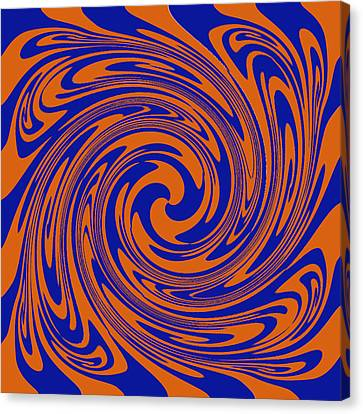 Dizziness Canvas Print by Soumya Bouchachi