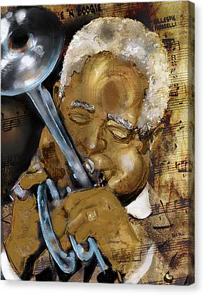 Dizzy Canvas Print by Howard Barry