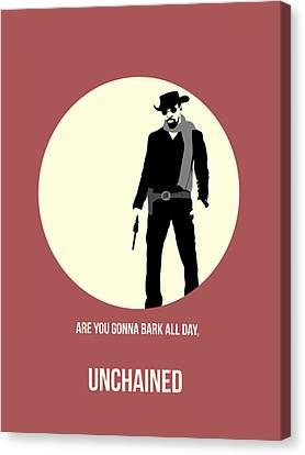 Django Unchained Poster 2 Canvas Print