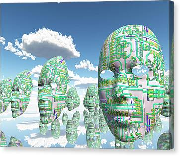 Do Androids Dream Of Electric Sheep Digital Art By Bruce Rolff