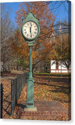 Billie Creek Canvas Print - Do You Have The Time by Thomas Sellberg