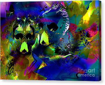 Chape Canvas Print - Do You See What I See? by Doris Wood
