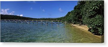 Tonga Canvas Print - Dock In The Sea, Vavau, Tonga, South by Panoramic Images