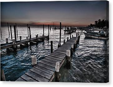 Docks At Ballyhoo Canvas Print