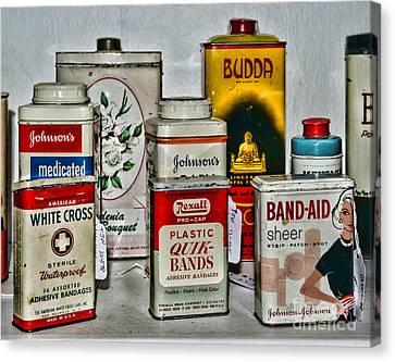 Budda Canvas Print - Doctor - Adhesive Bandages - Band Aid by Paul Ward
