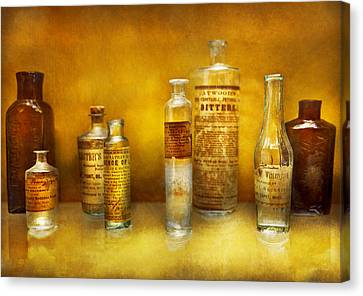 Doctor - Oil Essences Canvas Print by Mike Savad