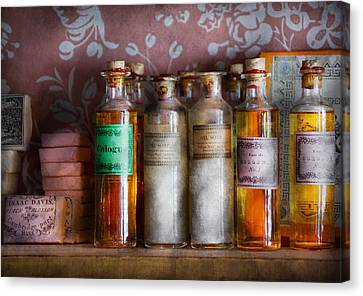 Doctor - Perfume - Soap And Cologne Canvas Print by Mike Savad