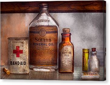 Pill Canvas Print - Doctor - Pharmacueticals  by Mike Savad