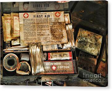 Doctor - The First Aid Kit Canvas Print by Paul Ward